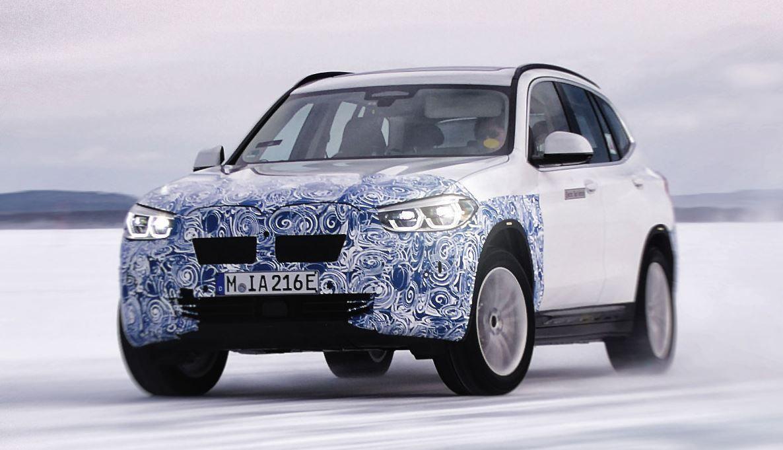BMW iX3 Elektroauto
