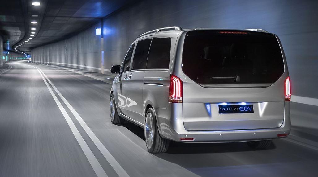 Mercedes Benz Concept EQV Elektroauto_1