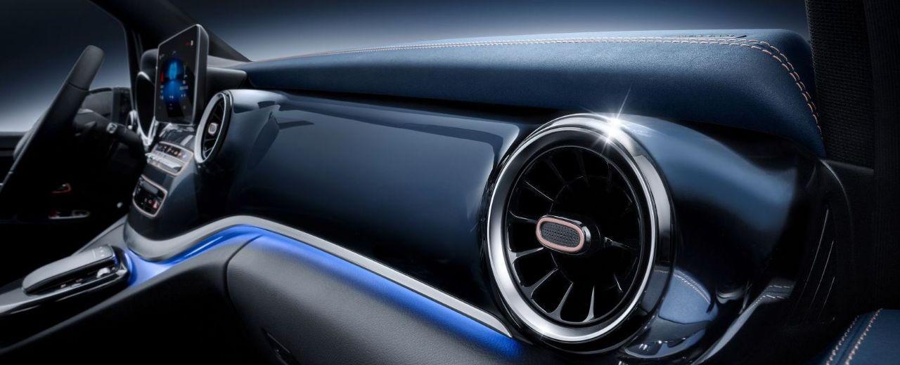 Mercedes Benz Concept EQV Elektroauto_2