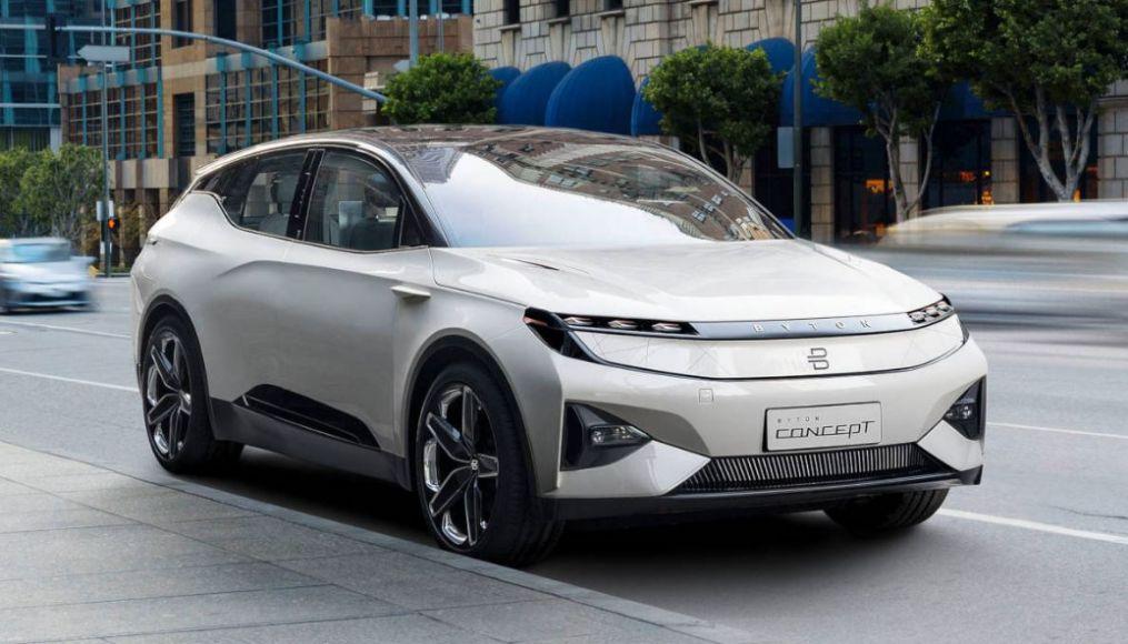 Byton bringt sein SUV M-Byte Ende 2020 nach Europa