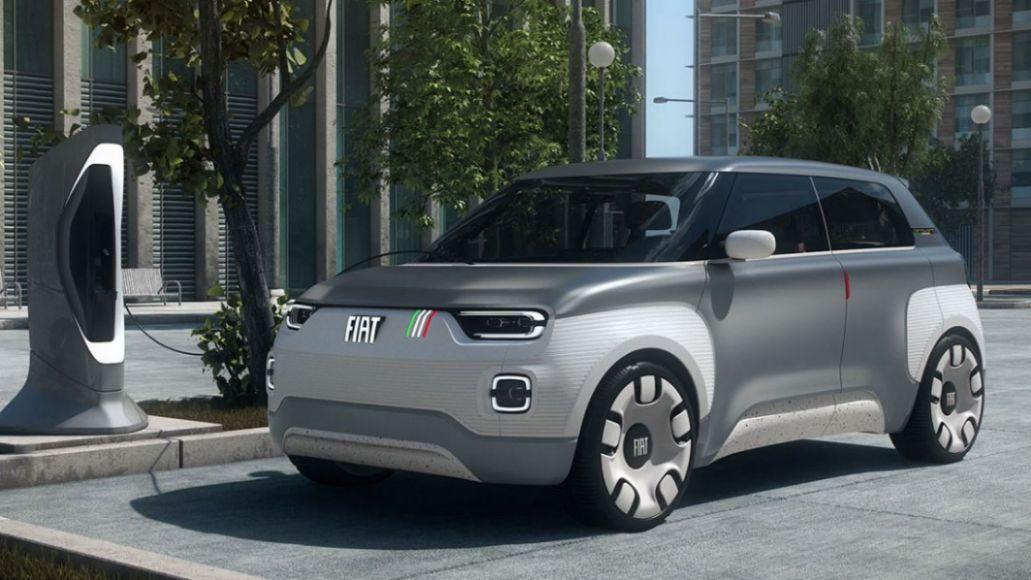 Fiat Concept Centoventi Elektroauto