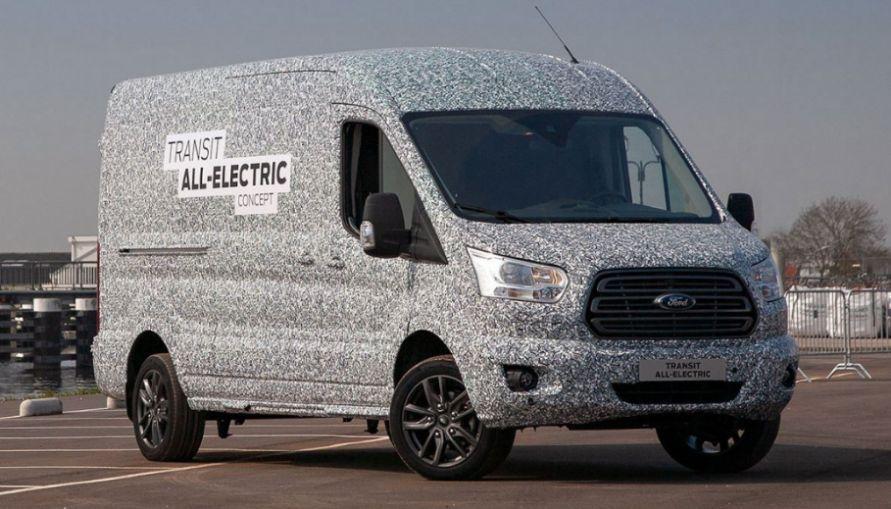 Ford Transit All Electric Elektrotransporter_1