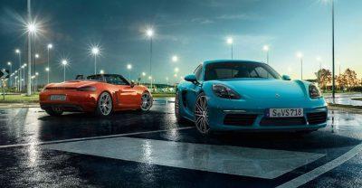 Porsche schickt vollelektrischen Cayman und Boxster ab 2022 in Rennen