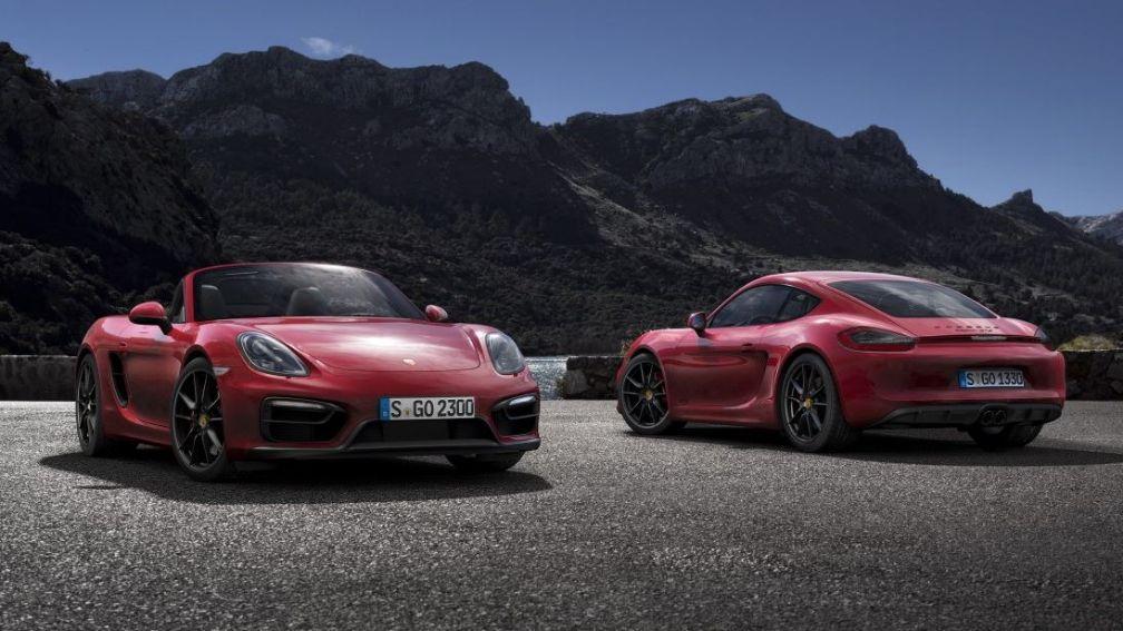 Porsche Cayman und Boxster Symbolfoto_1