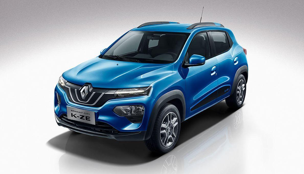 Renault präsentiert den City K-ZE als sein erstes Elektro-SUV