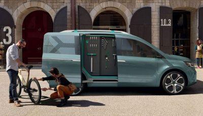 Renault spendiert dem Kangoo Z.E. ein neues Design für 2020