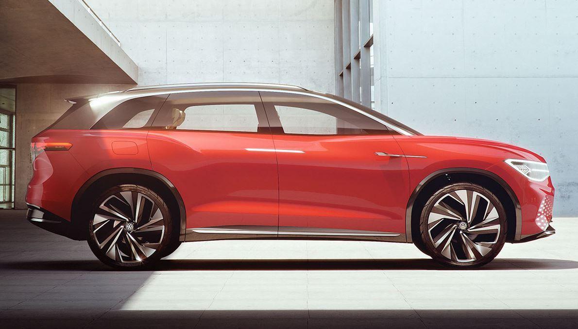 ID. Roomz wird das sechste Mitglied in der VW-Elektroauto-Familie
