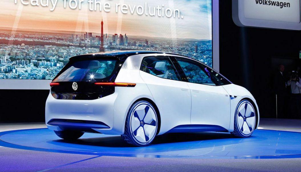 VW ID. erstes VW Elektroauto