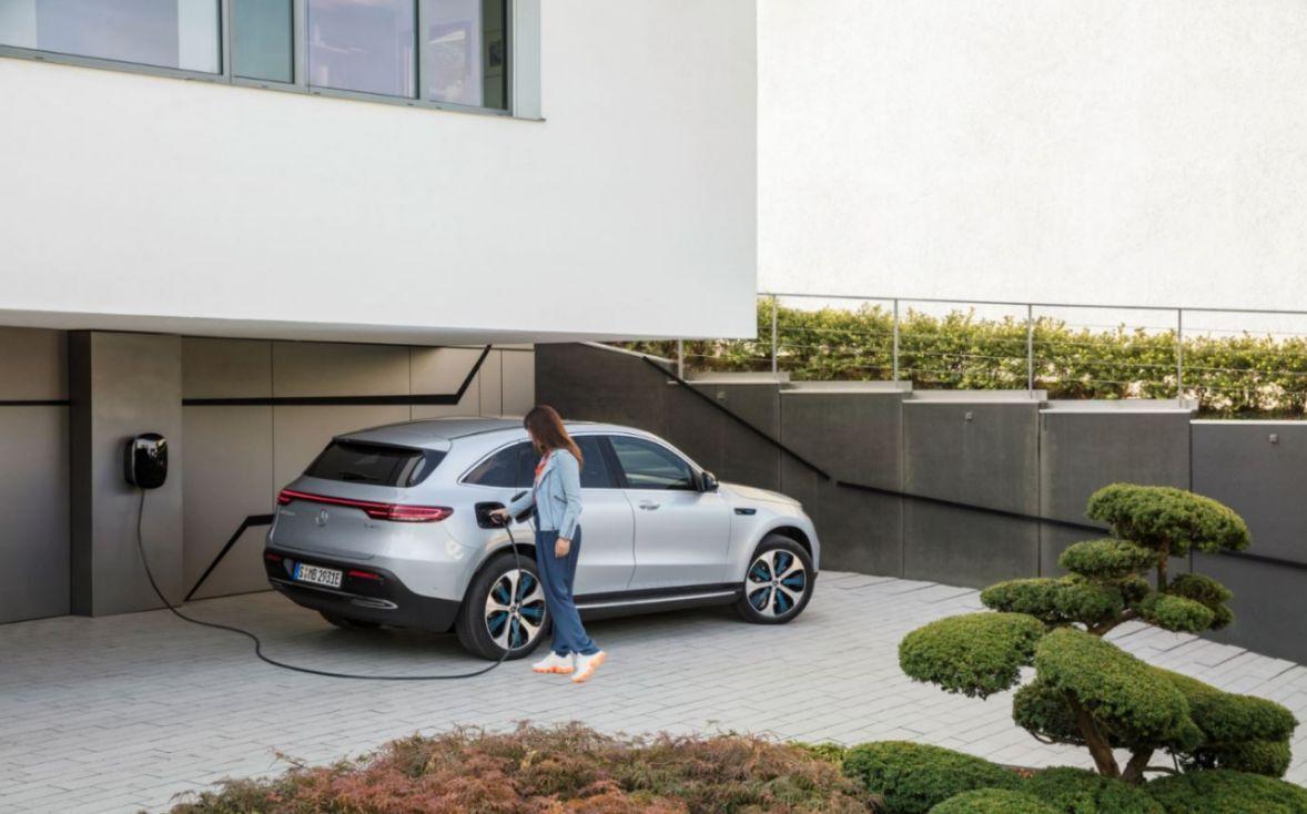 Mercedes Benz EQC Elektro SUV