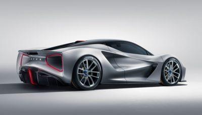Lotus kündigt Evija als Elektroauto der Superlative an