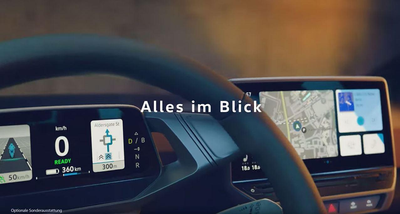 VW ID.3 Cockpit Elektroauto_1