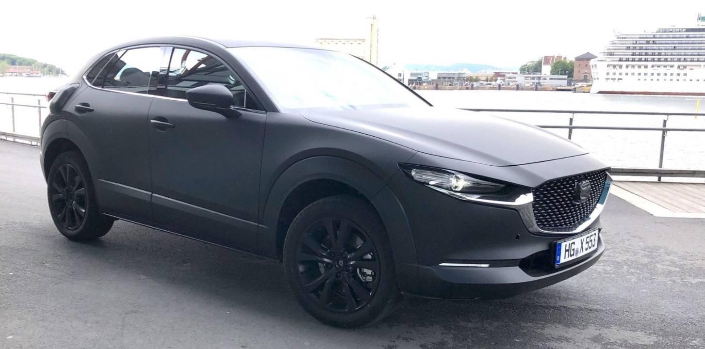 Vermeintlich erstes Elektroauto von Mazda gesichtet