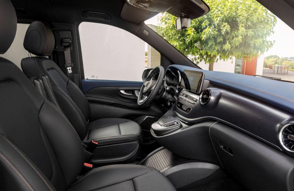Mercedes EQV Elektro Transporter_1