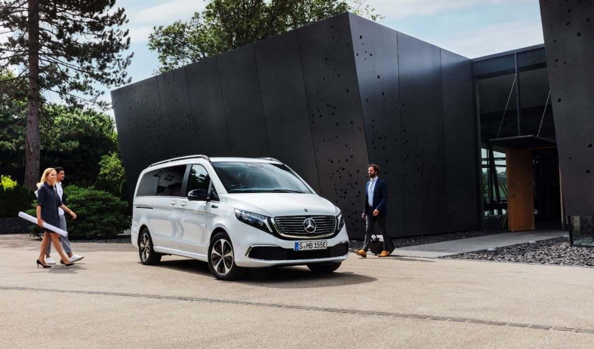 Mercedes EQV Elektro Transporter_2