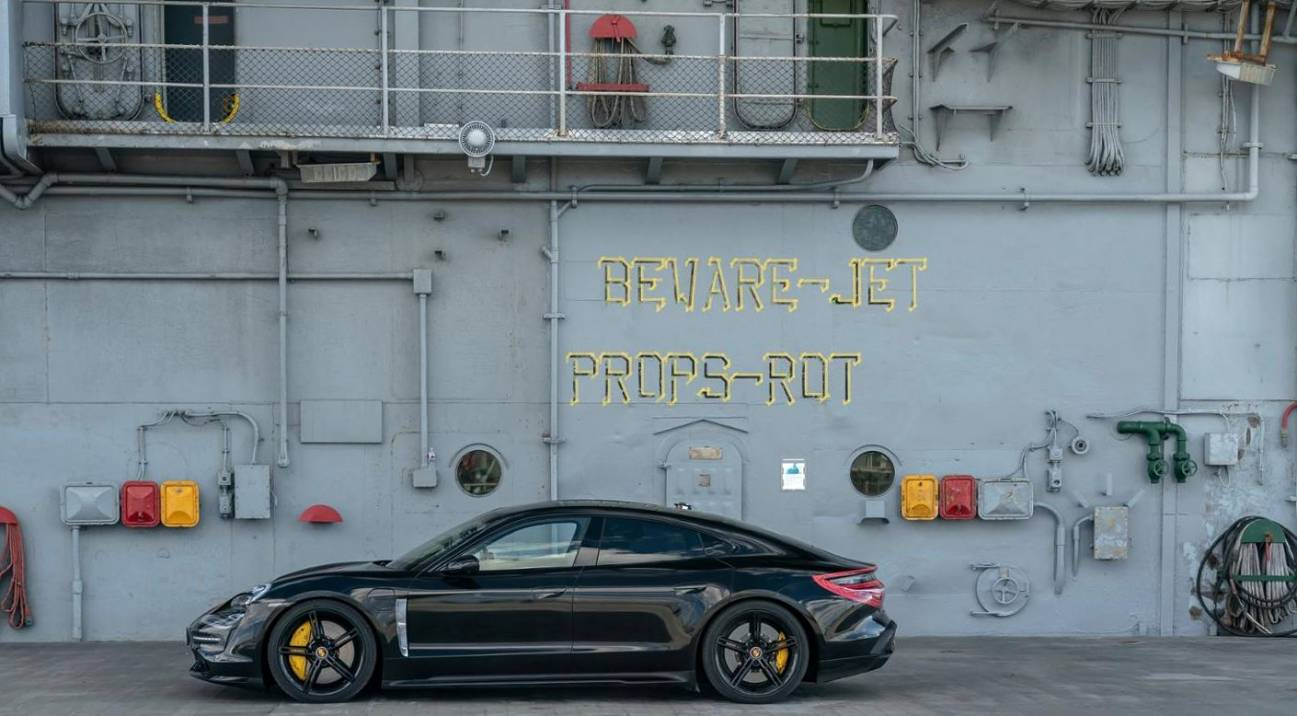 Porsche Taycan Elektroauto 2019