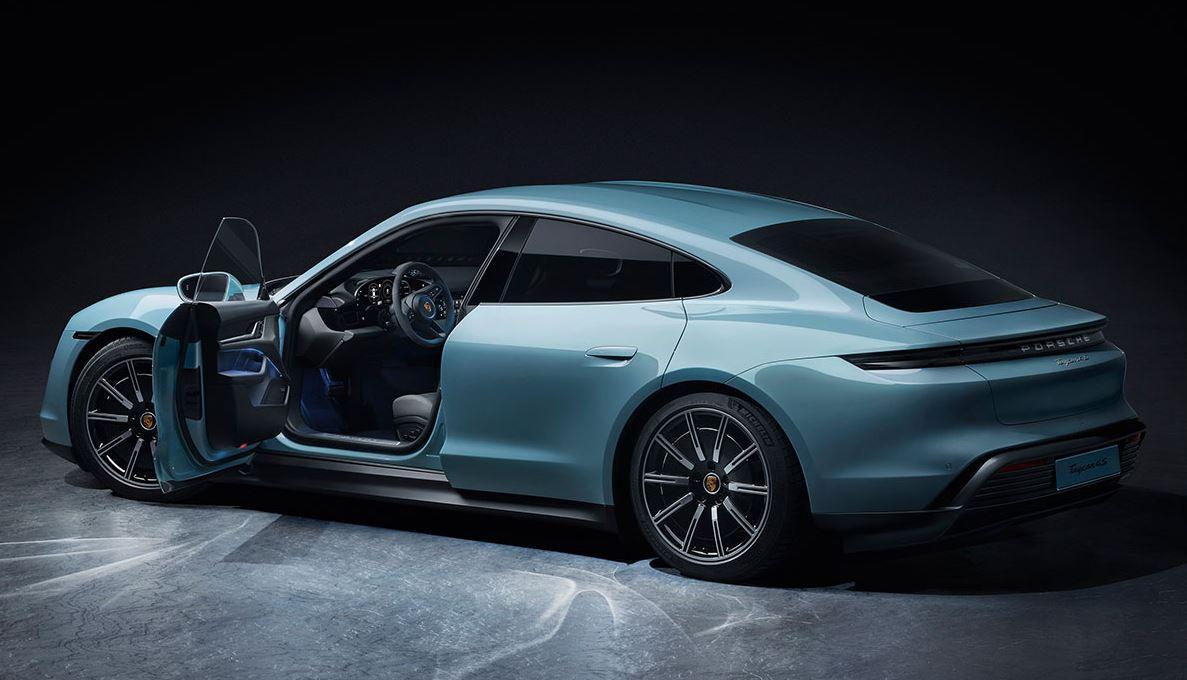 Porsche Taycan 4S rückt nach. Neue Informationen zum E-Macan.