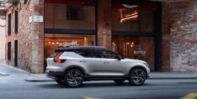Vorhang des XC40 Recharge ist gefallen: Volvo präsentiert sein erstes E-Auto