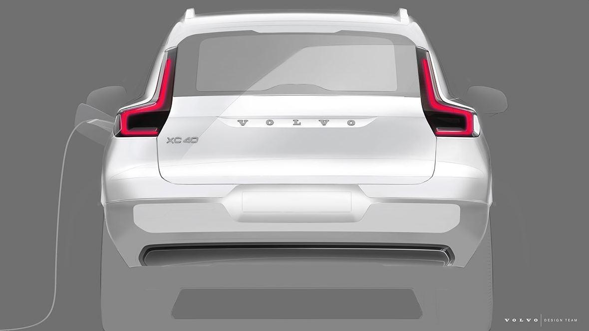 Volvo XC40 Teaser Elektroauto_1