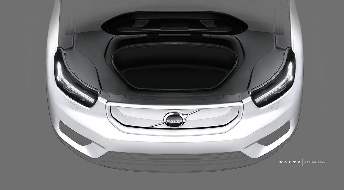 Volvo XC40 Teaser Elektroauto_2