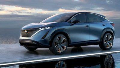 Ariya Concept: Vorgeschmack auf das E-SUV-Debüt von Nissan