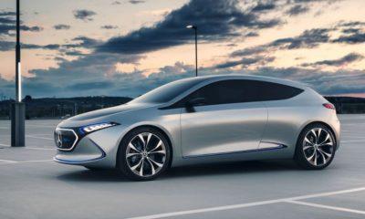 Mercedes EQA: Hersteller gewährt Ausblick zum zweiten EQ-Modell