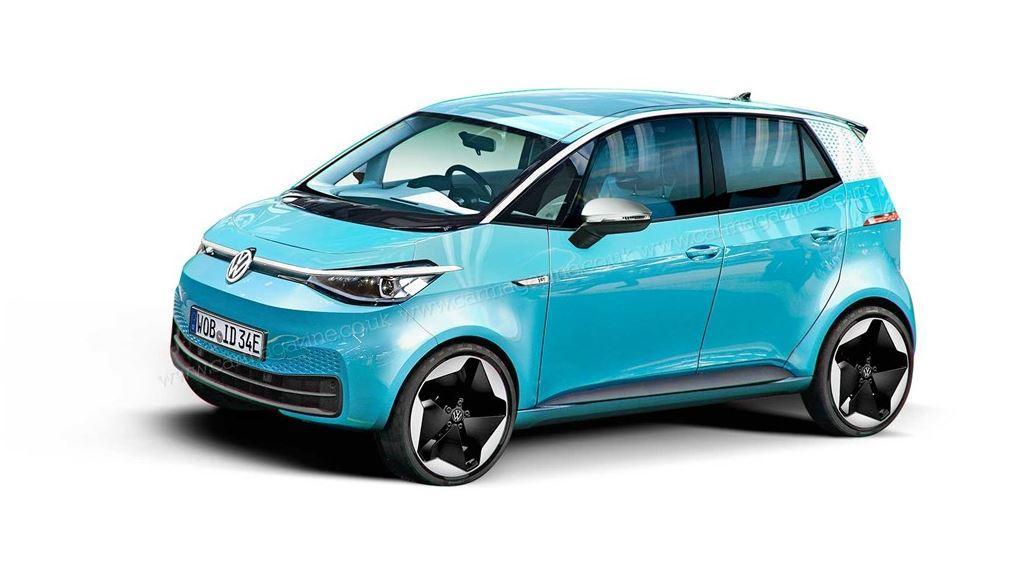 VW ID.1 ersetzt 2023 den e-Up! bei Volkswagen
