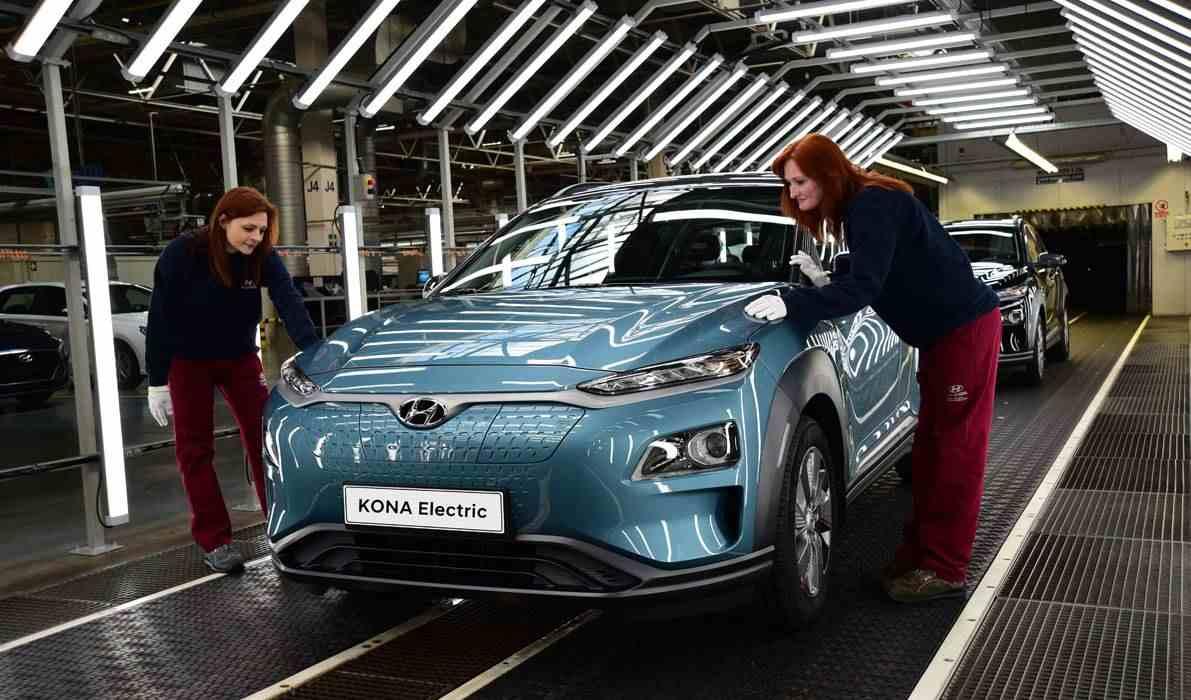 Elektroauto-Hersteller fahren die Produktion wieder hoch