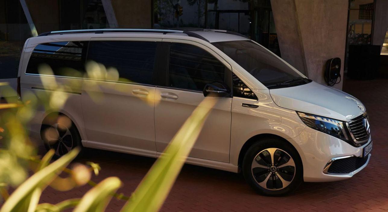 Mercedes öffnet seine Bestellbücher für den EQV