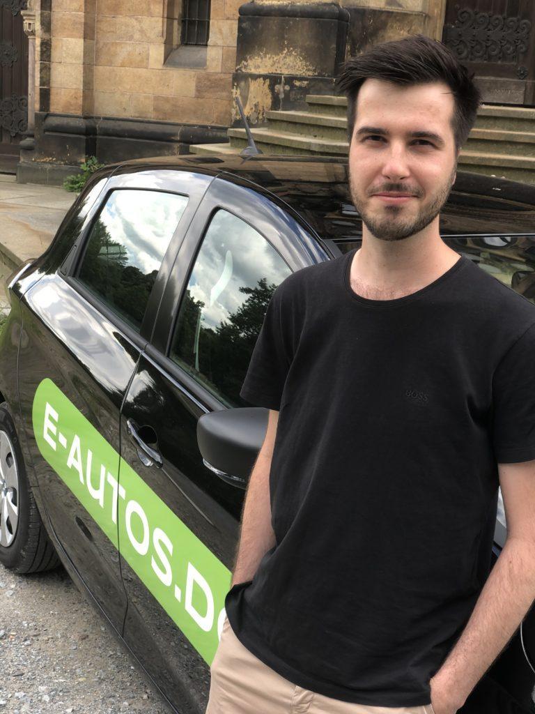 Teamvorstellung E-Autos.de Axel