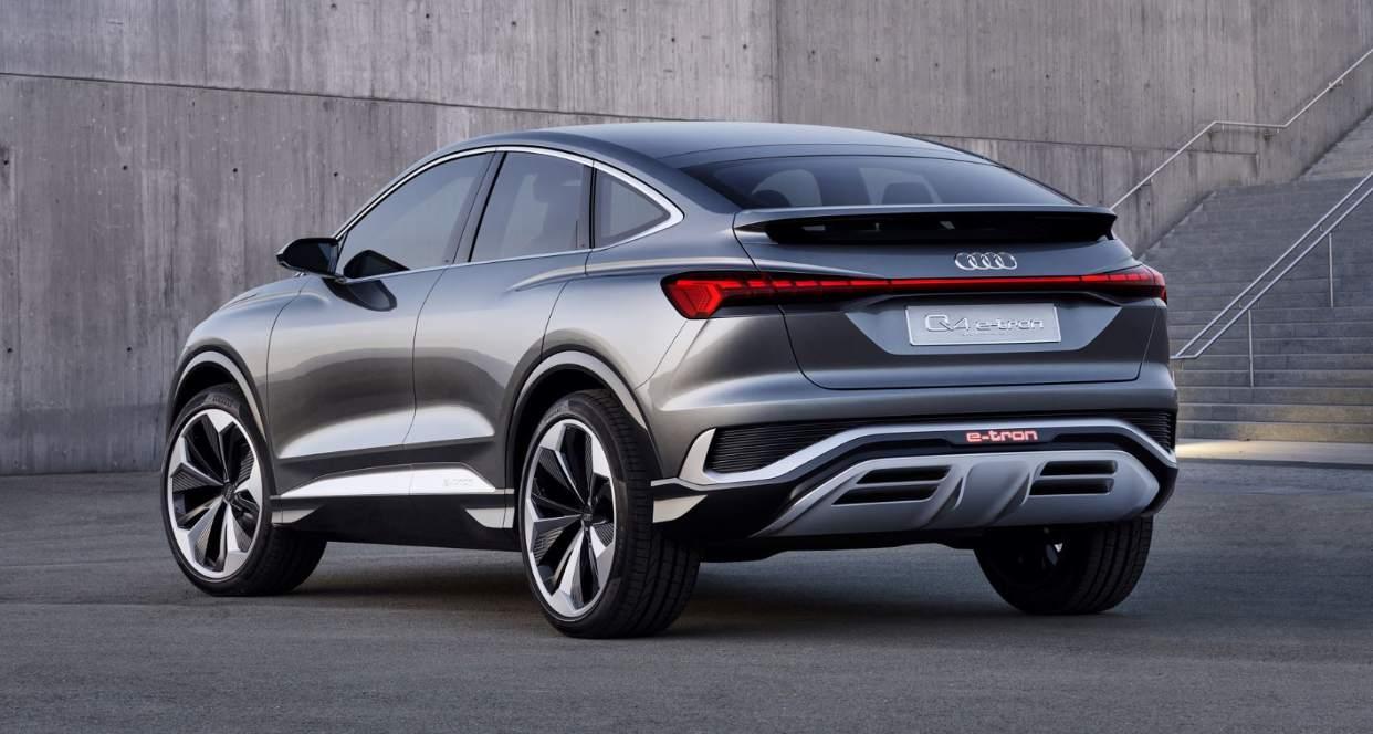 Audi Q4 Sportback e-tron erweitert die Modellpalette 2021