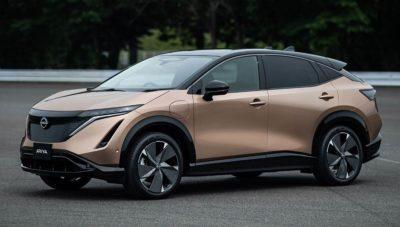 Serienversion des Nissan Ariya mit bis zu 500 Kilometern Reichweite enthüllt
