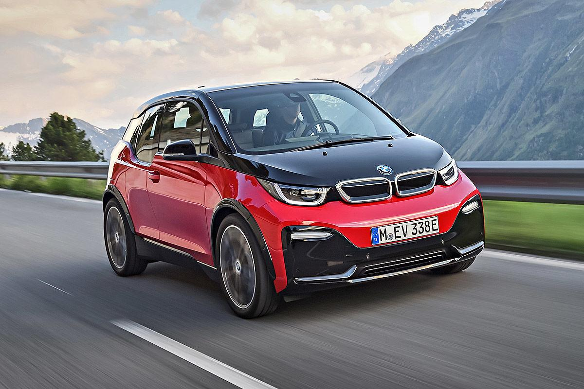 BMW i3 in rot