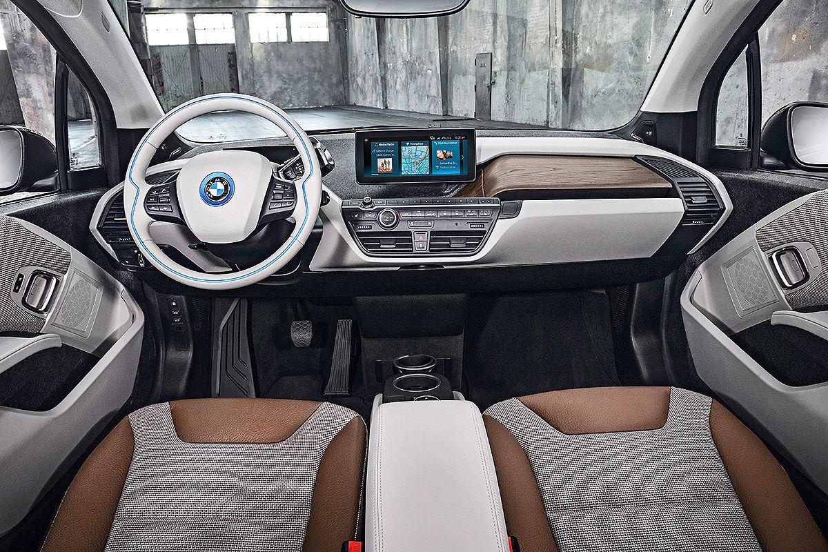 BMW i3 Innenraum Ansicht