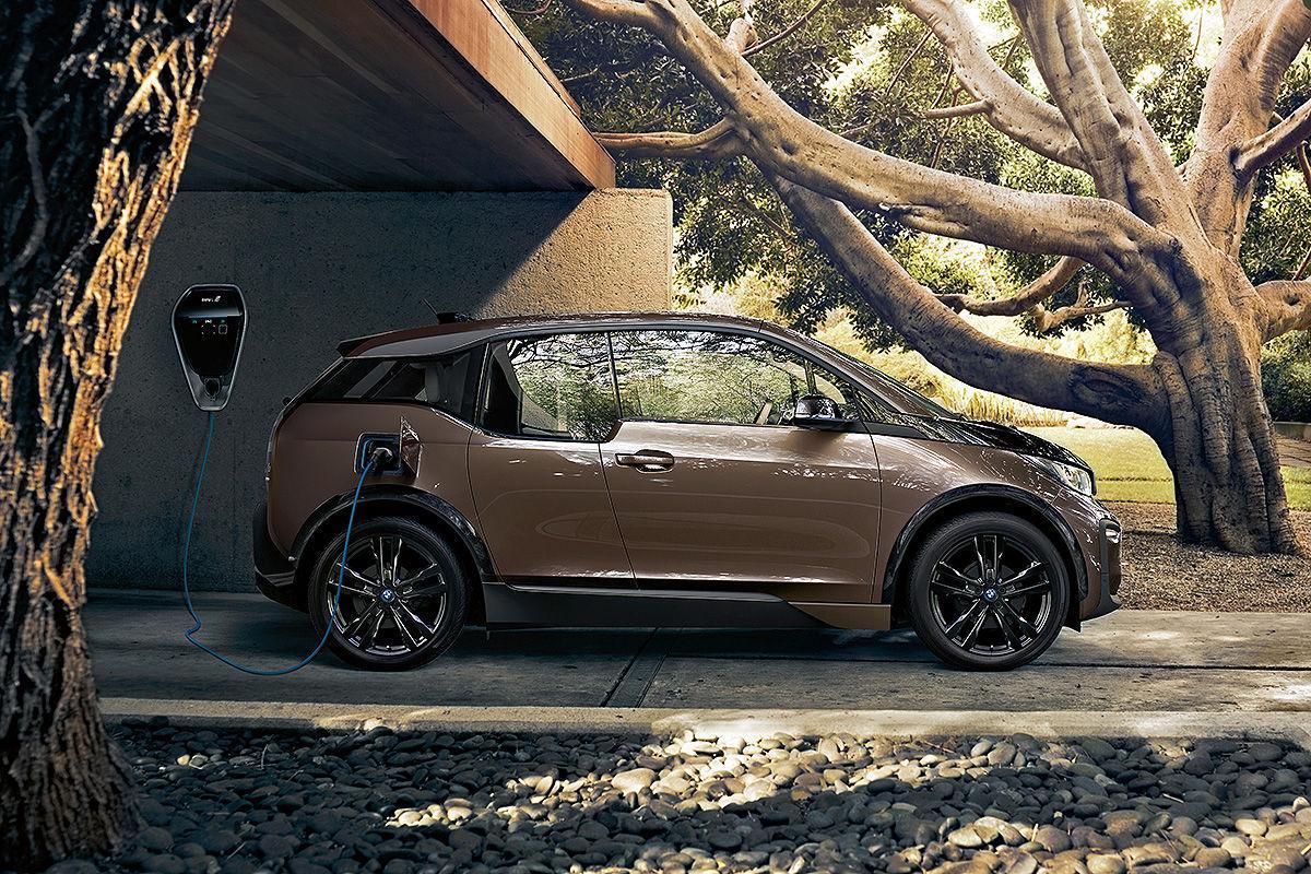 BMW i3 an einer Wallbox