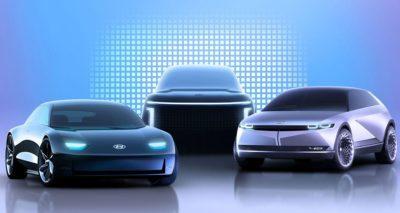 Hyundai fasst seine E-Autos künftig unter der Submarke Ioniq zusammen