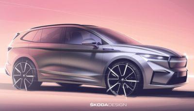 Erste Häppchen zum Elektro-SUV Skoda Enyaq iV