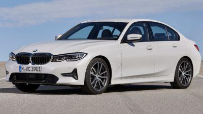 3er BMW als Verbrennerfahrzeug