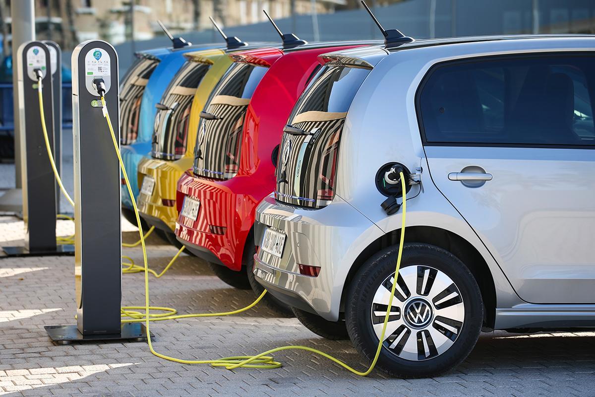 VW eUp Ladeanschluss