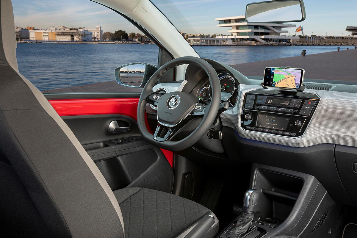 VW eUP Innenraumansicht