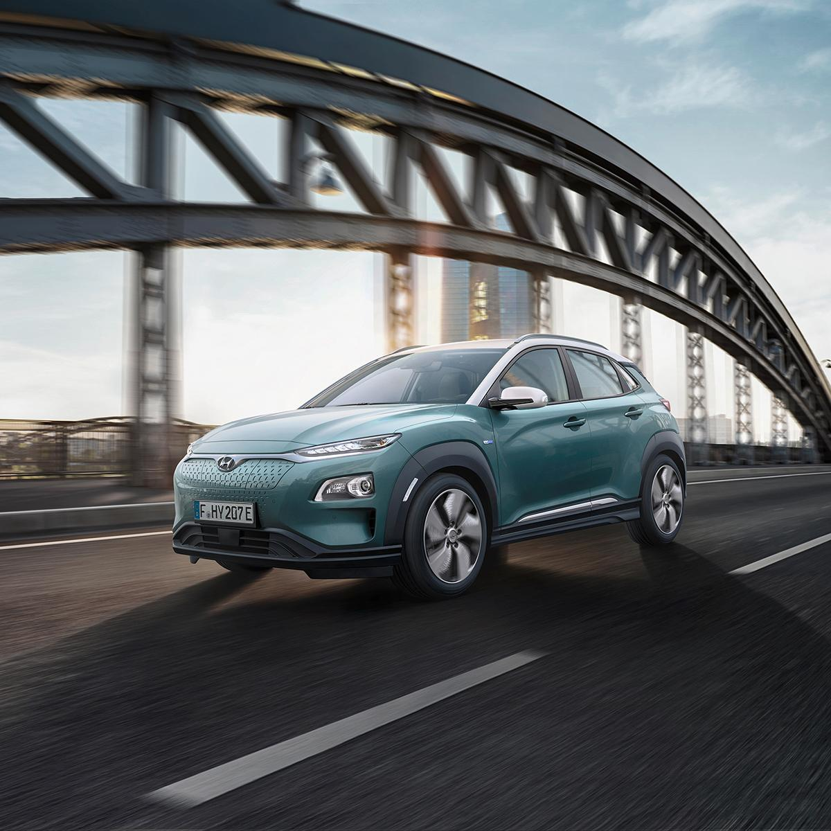 Hyundai Kona Elektro Außenansicht