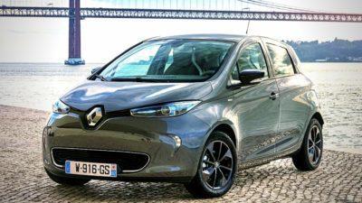 Renault ZOE intens als Elektroauto der Kompaktklasse