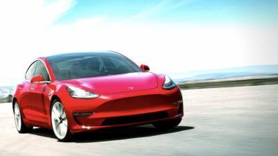 Tesla Model 3 als elektrischer Mittelklassewagen