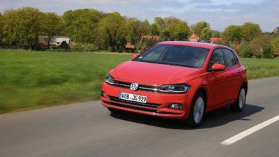 VW Polo Trendline als Verbrennerfahrzeug der Kompaktklasse