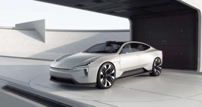 Sportliche E-Limousine Polestar Precept geht in Serie