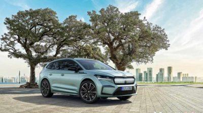 Skoda Enyaq iV feiert seine Premiere in Prag als erstes MEB-SUV