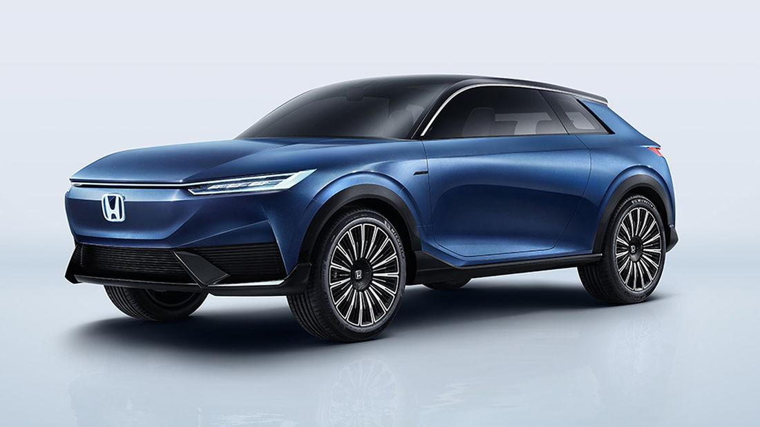 Honda SUV e:concept – der geheimnisvolle Dreitürer