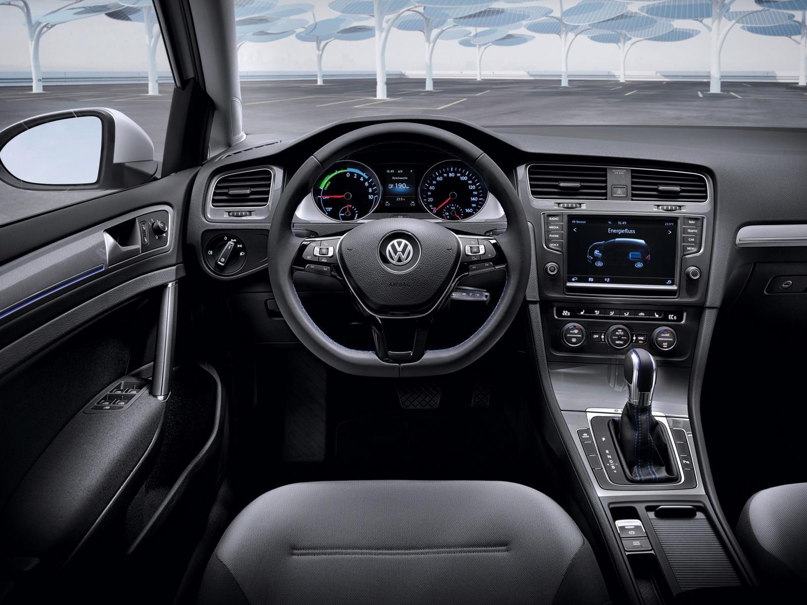 VW eGolf Innenraumansicht