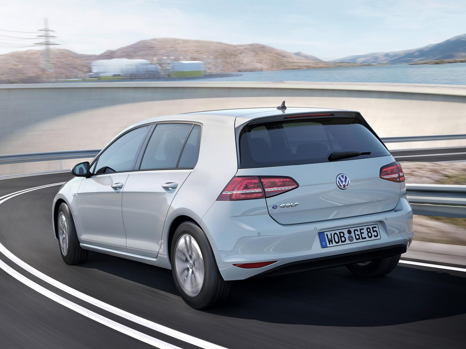 VW eGolf Heckansicht