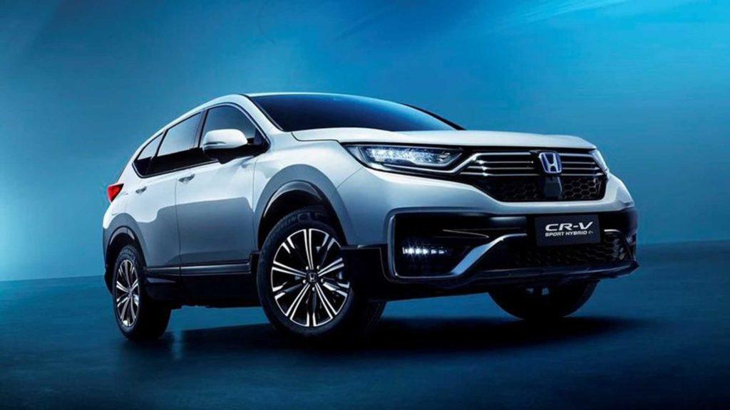 Neuer Honda SUV mit Elektroantrieb Ansicht von schräg vorne
