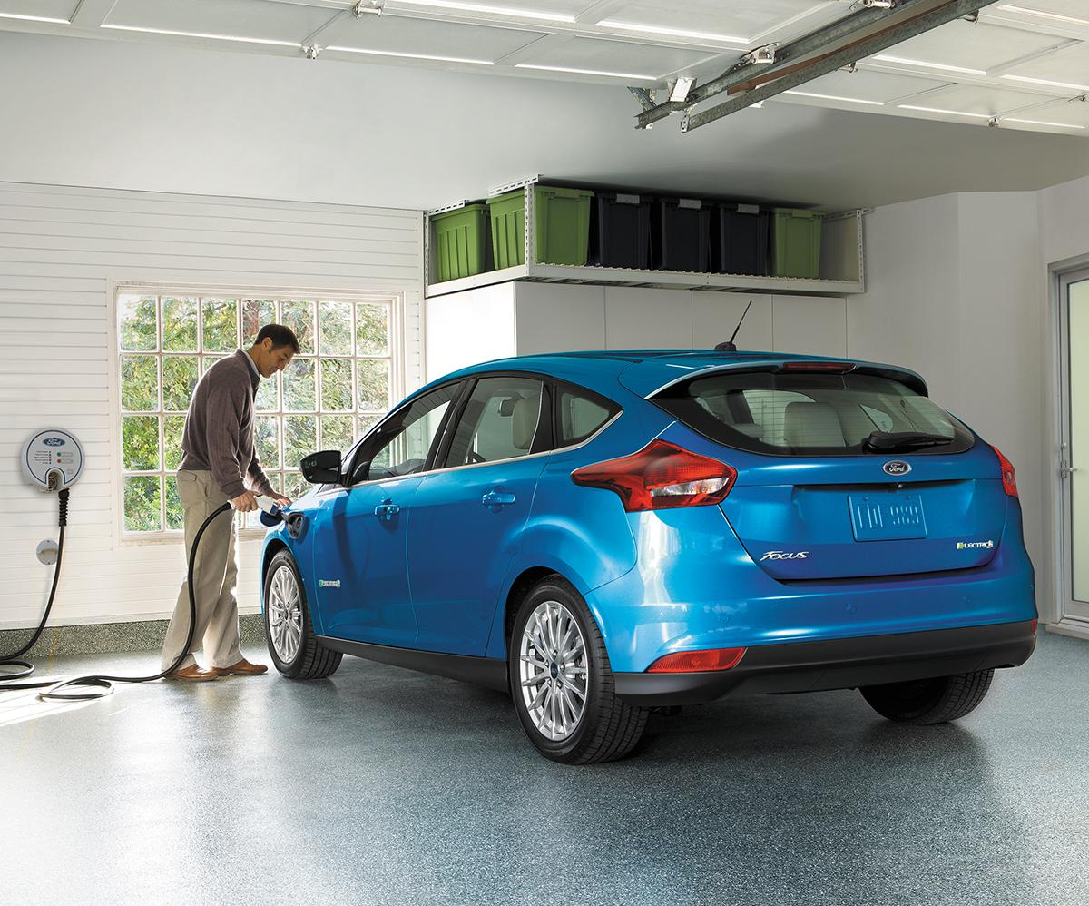 Ford Focus Electric Ladeanschluss
